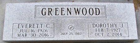 GREENWOOD, EVERETT C, - Rock County, Wisconsin | EVERETT C, GREENWOOD - Wisconsin Gravestone Photos