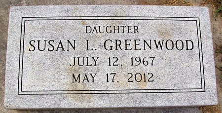 GREENWOOD, SUSAN L. - Rock County, Wisconsin | SUSAN L. GREENWOOD - Wisconsin Gravestone Photos