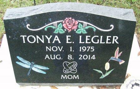 LEGLER, TONYA E. - Rock County, Wisconsin | TONYA E. LEGLER - Wisconsin Gravestone Photos