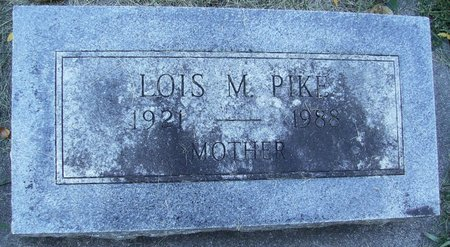 PIKE, LOIS MAE - Rock County, Wisconsin | LOIS MAE PIKE - Wisconsin Gravestone Photos