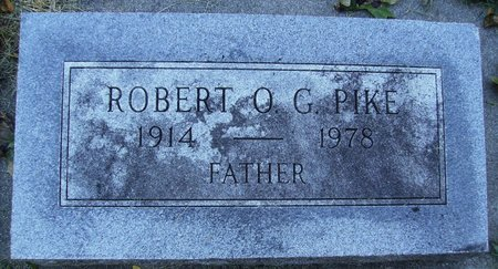 PIKE, ROBERT O. G. - Rock County, Wisconsin   ROBERT O. G. PIKE - Wisconsin Gravestone Photos