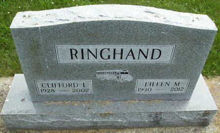 """RINGHAND, CLIFFORD LESLIE """"CLIFF"""" - Rock County, Wisconsin   CLIFFORD LESLIE """"CLIFF"""" RINGHAND - Wisconsin Gravestone Photos"""