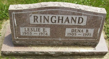 RINGHAND, DENA DOROTHY BERNICE - Rock County, Wisconsin | DENA DOROTHY BERNICE RINGHAND - Wisconsin Gravestone Photos