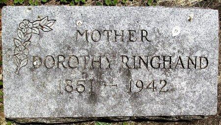 KRAHN RINGHAND, DOROTHY SOPHIA - Rock County, Wisconsin | DOROTHY SOPHIA KRAHN RINGHAND - Wisconsin Gravestone Photos