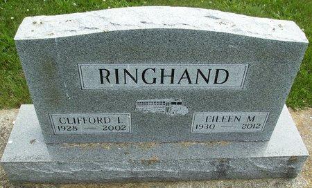 RINGHAND, EILEEN M. - Rock County, Wisconsin | EILEEN M. RINGHAND - Wisconsin Gravestone Photos