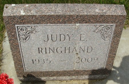 "RINGHAND, JUNICE EVELYN ""JUDY"" - Rock County, Wisconsin 