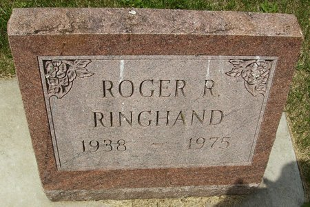 RINGHAND, ROGER R. - Rock County, Wisconsin   ROGER R. RINGHAND - Wisconsin Gravestone Photos