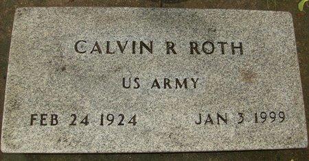 """ROTH, CALVIN R. """"CAL"""" - Rock County, Wisconsin   CALVIN R. """"CAL"""" ROTH - Wisconsin Gravestone Photos"""