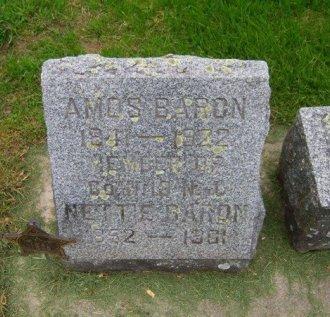 BARON (CW), AMOS - Sauk County, Wisconsin | AMOS BARON (CW) - Wisconsin Gravestone Photos