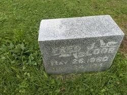 BLOOR, FRED J - Washington County, Wisconsin   FRED J BLOOR - Wisconsin Gravestone Photos